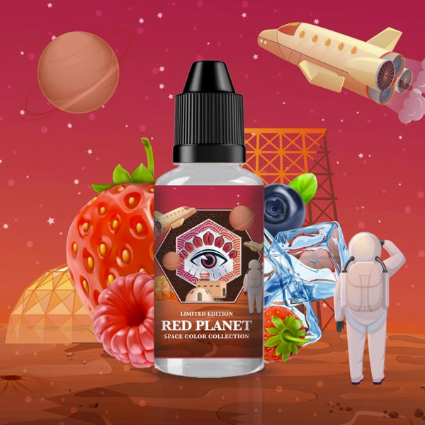 Arome Red Planet 30ml de chez Made In Vape
